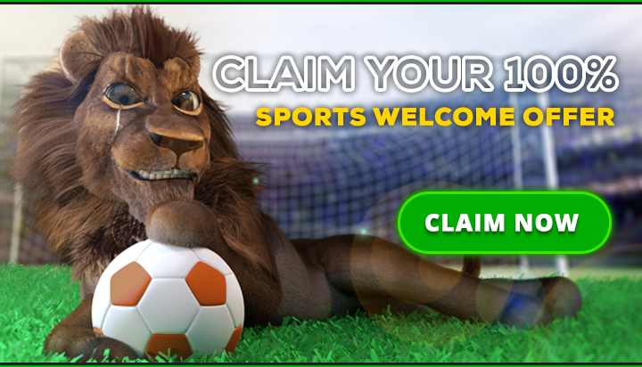 Sportsbook Lion Banner